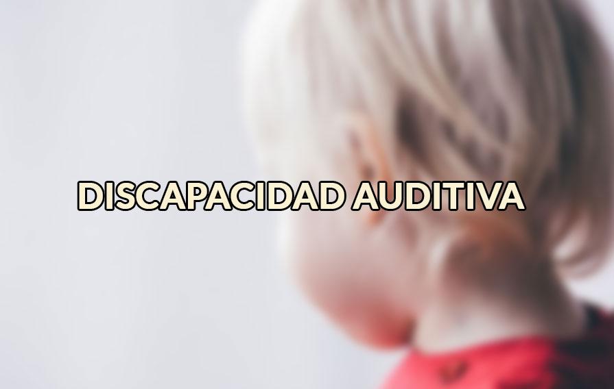 discapacidad auditiva