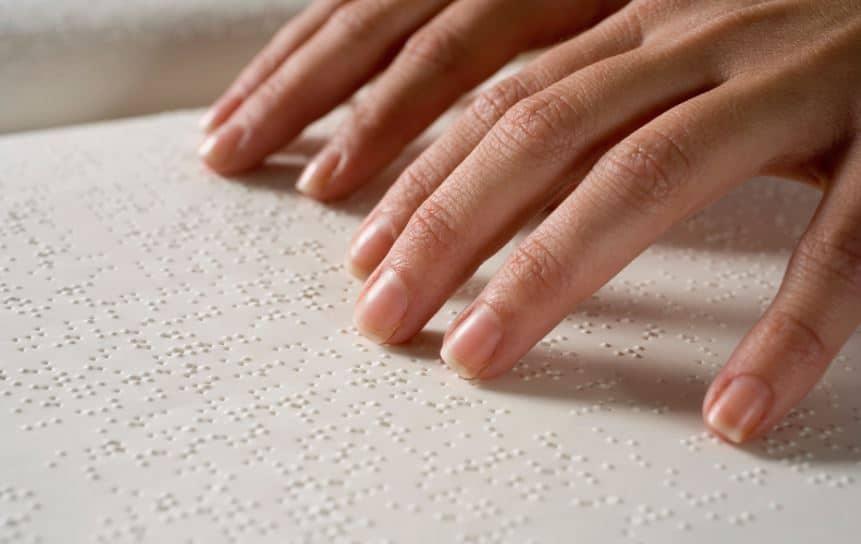 aprender a leer braille